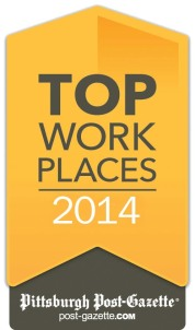 Full Service Network places in Pittsburgh Business Times Top Places to work in 2014