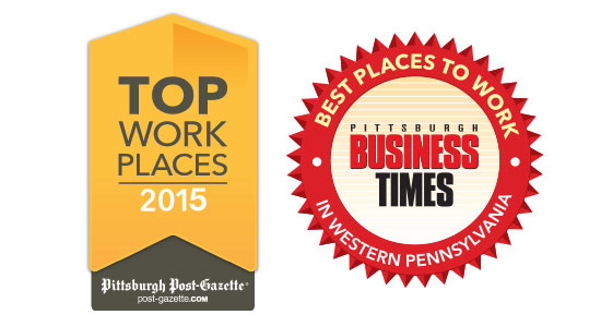 Full Service Network places in Pittsburgh Business Times Top Places to work again in 2015